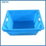 Promotion de la Caisse de transport de fruits empilables solide en plastique se déplaçant fourre-tout récipient de stockage