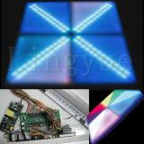 Indicatore luminoso acrilico LED Dance Floor della fase della discoteca del PVC da vendere