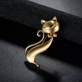 Pequeña broche linda de la joyería de la manera de la aleación del metal del Fox
