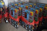 3800mm de longueur de travail 45 Degré d'inclinaison des panneaux d'ABS, PVC Conseil scie de dimensionnement du panneau de la machine en Philippines