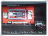 Machine de découpage faisante le coin en aluminium alimentante automatique de profil