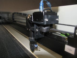 Jq 18010 Máquina de corte láser de tejido de impresión de prendas de vestir de traje deportivo