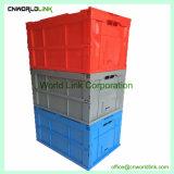 Movimento de plástico dobráveis Crate Estoque convenientes de PP sólido Bandeja dobrável