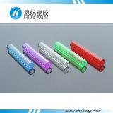 Tubos de acrílico de plástico policarbonato coloridos para Artware e decoração