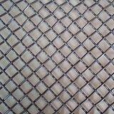 Оцинкованная сталь/гофрированная нержавеющей сталью сплетенная квадратом ячеистая сеть