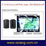 macchina fotografica portata ente multifunzionale di visione notturna di IR di linguaggio della macchina fotografica della polizia di 1080P IP65