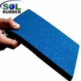 高密度安全屋外の運動場のゴム製床タイル