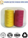 Katoen-polyester Kern Gesponnen Textiel Naaiende Draad voor Jeans