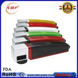 Las piezas de caucho de alta velocidad Advanced 20W/30W/50W impresora láser de fibra portátil máquina Marcador