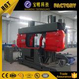 제조 높은 정밀도 수평한 절단 악대 금속 Sawing 기계