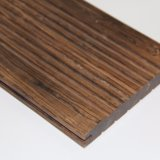 Suelo de bambú al aire libre sólido chino con el bambú tejido hilo
