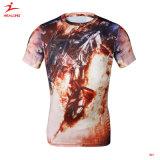 최신 디자인 남자 주문 공백 싼 면 t-셔츠