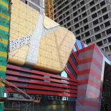 Building FeaturesのためのHyperbolic Designsの多色刷りのAluminum Panels