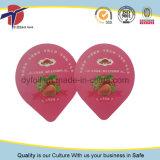 Крышка алюминиевой фольги ушатов югурта с сертификатом качества еды