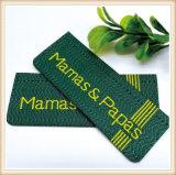 Proveedor de cualquier color ropa personalizada etiqueta tejida