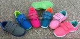 Plus tard les Enfants de chaussures en toile d'injection chaussures occasionnel des souliers de sport (FFC-23)