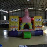 Bouncer gonfiabile di Spongebob Squarepants per divertimento
