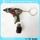 Azionamento su ordinazione dell'istantaneo del USB di figura del trivello con il marchio & Keychain (ZYF1064)
