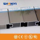Perfil de aluminio de la ventana de Champán y del aluminio de Extruted del perfil de la protuberancia de la puerta