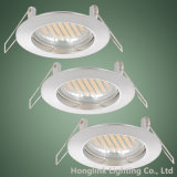 GU10 Light Fixture를 가진 조정 3W/5W/7W LED Recessed Downlight