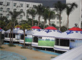 Barraca Mongolian do evento do partido da barraca de Yurt da barraca luxuosa de Yurt