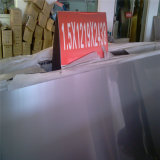 ASTM 304 acero inoxidable laminado en frío de la placa de superficie del espejo