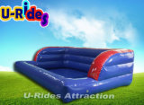 Pequena piscina para slide inflável