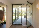 porte claire en verre Tempered de 12mm