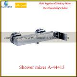 Misturador sanitário da água da bacia do banheiro dos mercadorias da única alavanca quadrada