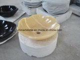 Lavabo de mármol Onxy Blanco Chino para el cuarto de baño