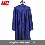 Capuchon bleu marine brillant Graduation robe pour la maternelle
