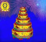 Bomba rossa di tuono del Banger del cracker di celebrazione della corrispondenza dei fuochi d'artificio del petardo