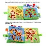 Livros programável de pelúcia para bebés, 4 Packs Atividade anilha ondulada pano macio tecido livros brinquedos infantis - Non-Toxic Perfect Aprendizagem Precoce brinquedos educativos livros para babetes
