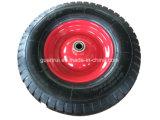 Rotella di gomma pneumatica 4.00-8 della carriola da 16 pollici