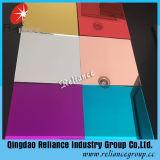 Bronce / Azul / Rojo Color Flotante Espejo de aluminio