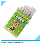 10PCS Dustless White Chalk