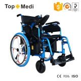 마그네슘 합금 5 포크 바퀴 Foldable 힘 전자 휠체어