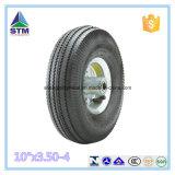 """WheelbarrowまたはHand TrolleyのためのチンタオCheap Pneumatic Tyre 10 """" X3.50-4"""