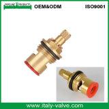Cartouche en laiton de taraud à la maison/noyau de valve (AV-BC0001)