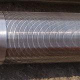 Filtri per pozzi continui dell'acqua della scanalatura del collegare del cuneo di SS304L per la perforazione del pozzo d'acqua