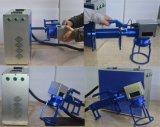 Máquina da marcação do laser da fibra para o alumínio do aço inoxidável do metal