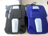 T печатает автоматический секционный консервооткрыватель на машинке двери гаража