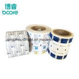 El papel de aluminio envasado de café el rollo de plástico