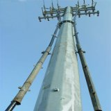 Alta Tensão da Linha de Transmissão Anti-Rust 220kv China equipamentos de distribuição de energia elétrica da fábrica de 110kv, 132kv pólo de energia