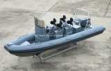 Aqualand 19feet 5.8m 12persons 늑골 모터 배 또는 엄밀한 팽창식 군 배 /Sports /Diving/Rescue/Patrol (RIB580T)