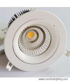 el techo LED de la MAZORCA de 9W~50W Huaao abajo se enciende en China