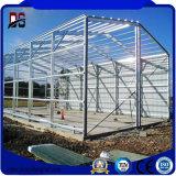 Edificios prefabricados del taller del metal de las estructuras de acero