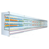Air Curtain를 가진 높은 Quality Open Vertical Multideck Display Chiller