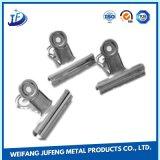 Hoja de encargo que estampa el clip del metal con servicio del torneado/el moler/el trabajar a máquina