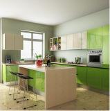 台所単位の/Modern光沢度の高いデザイン